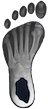 UNC Tar Heel Foot